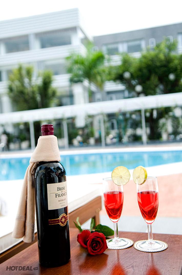2 Ngày 1 Đêm Nghỉ Dưỡng Tại Princess Resort - Tặng 1 Dĩa Trái Cây Bốn Mùa Dành Cho 2 Người