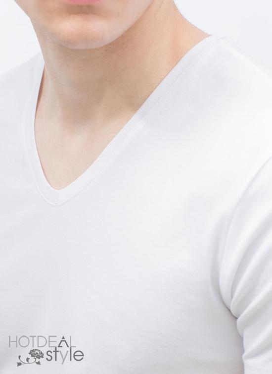 Áo Phông Cổ Tim 100% Cotton Hàng VNXK.
