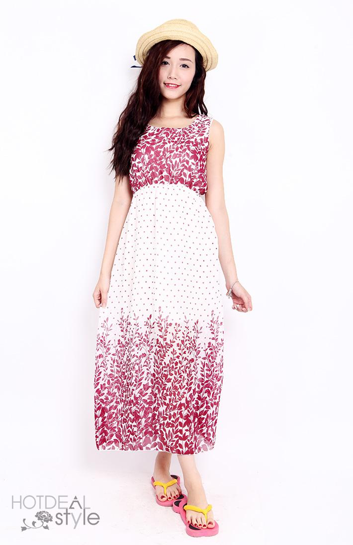 Váy Maxi 2 Lớp Dáng Dài Cho Mùa Hè Tươi Mát