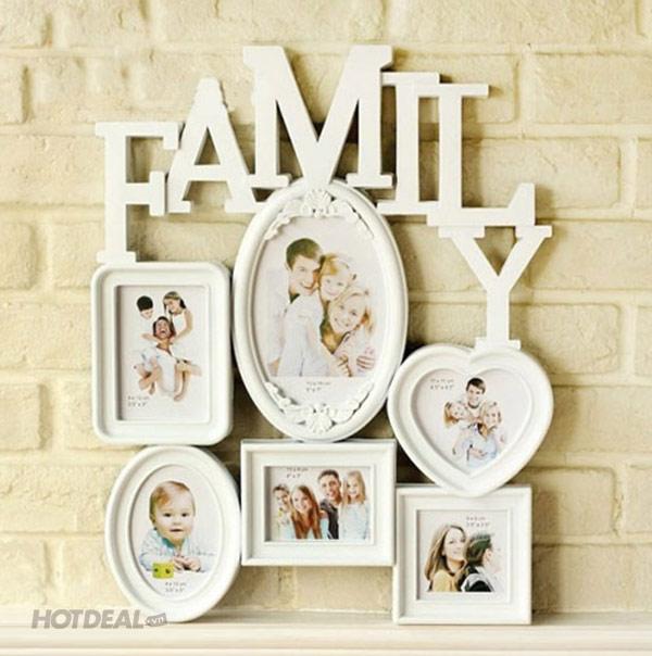 Bộ Khung Ảnh Hàn Quốc Family Frame