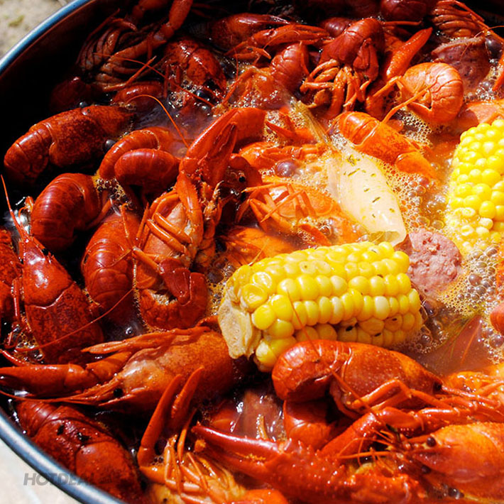 Combo Tôm Hùm Đất Crawfish Kiểu Mỹ 550gr Tại 4G's Texas Restaurant