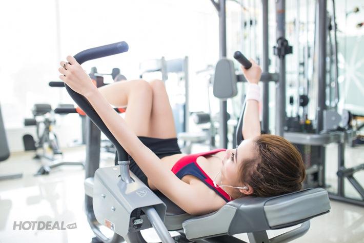 4 Tuần Tập Thể Dục Tại Diamond Fitness Center-Miễn Phí Hồ Bơi, Yoga