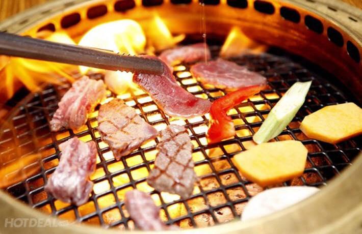 Buffet Trên 80 Món Nướng, Lẩu Nhật Hàn, Free Cafe, Chè, Món Ăn Kèm