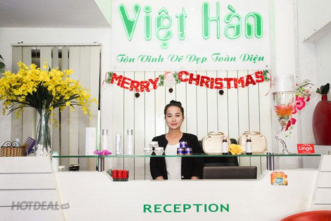 Gói Lăn Kim Tế Bào Gốc Trị Sẹo Lõm Tại Spa Việt Hàn, Miễn Tip