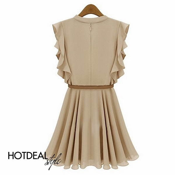 Đầm Tay Cách Điệu Sang Trọng