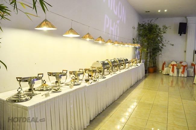 Buffet Tối Gần 50 Món Chay Đặc Sắc Tại Sài Gòn Phố Palace