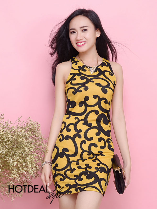 Đầm Body Yếm Selina