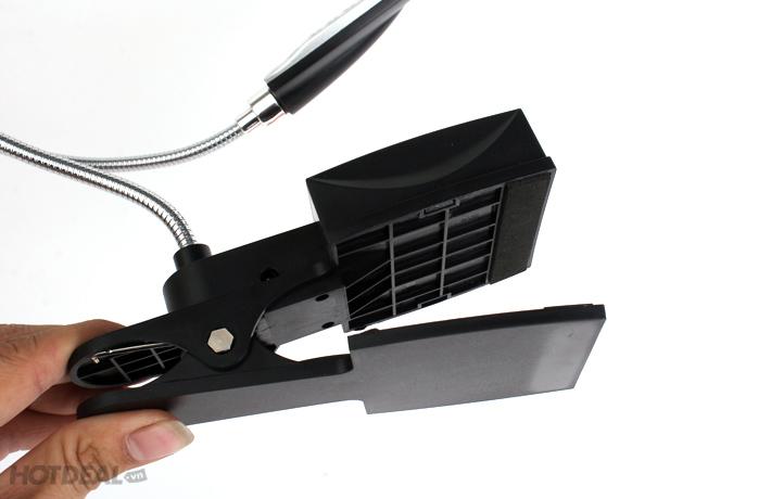 Đèn Led Để Bàn Có Đế Kẹp Tiện Lợi + Dây USB