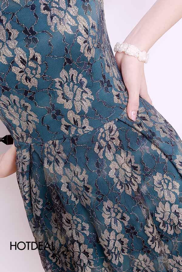 Đầm Ren Vintage Sang Trọng