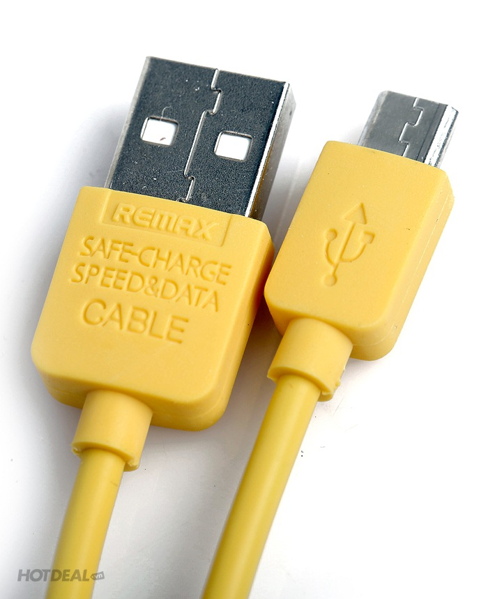 Cáp Màu Micro Chính Hãng Remax Cho SmartPhone Samsung, LG, HTC