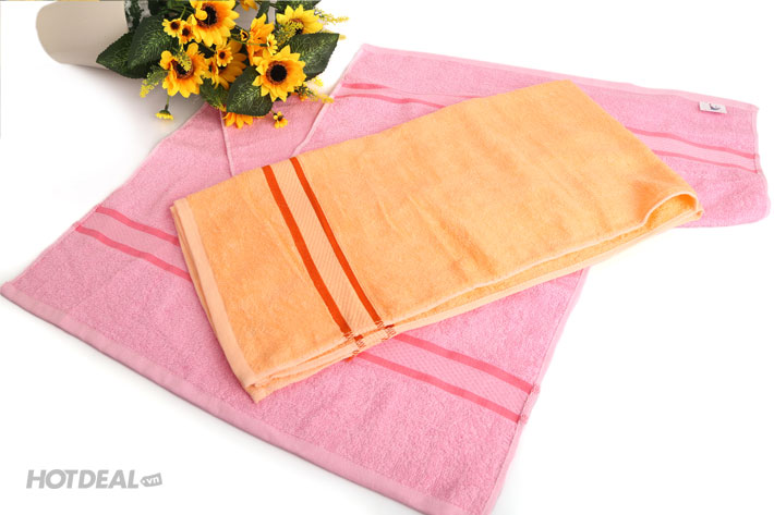 Combo 2 Khăn Tắm Mùa Hè Công Ty Phong Phú