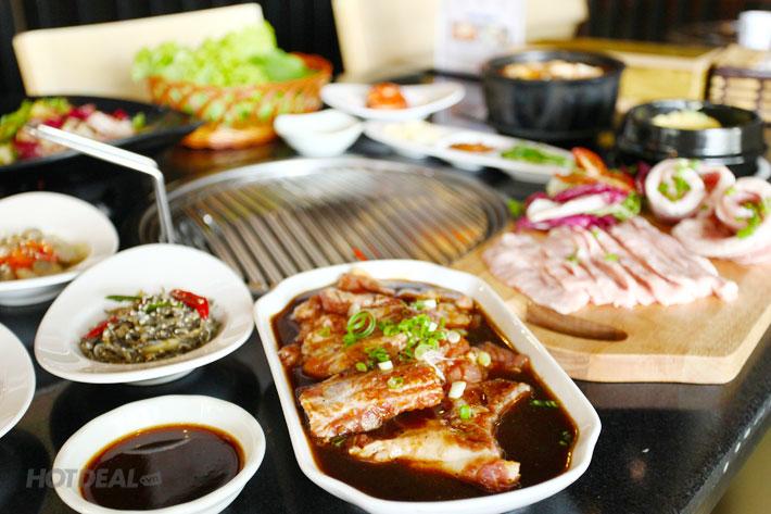 Set Nướng Hàn Quốc Cho 2 – 3 Người Tại Nhà Hàng BBQ House - Plan K