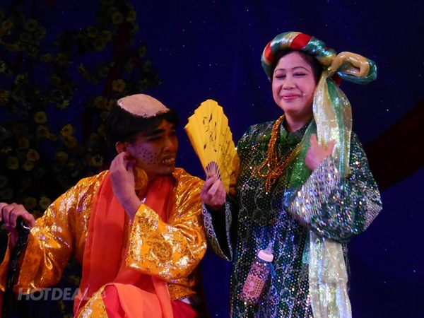 Vé Xem Kịch Tại Sân Khấu Kịch Sen Việt