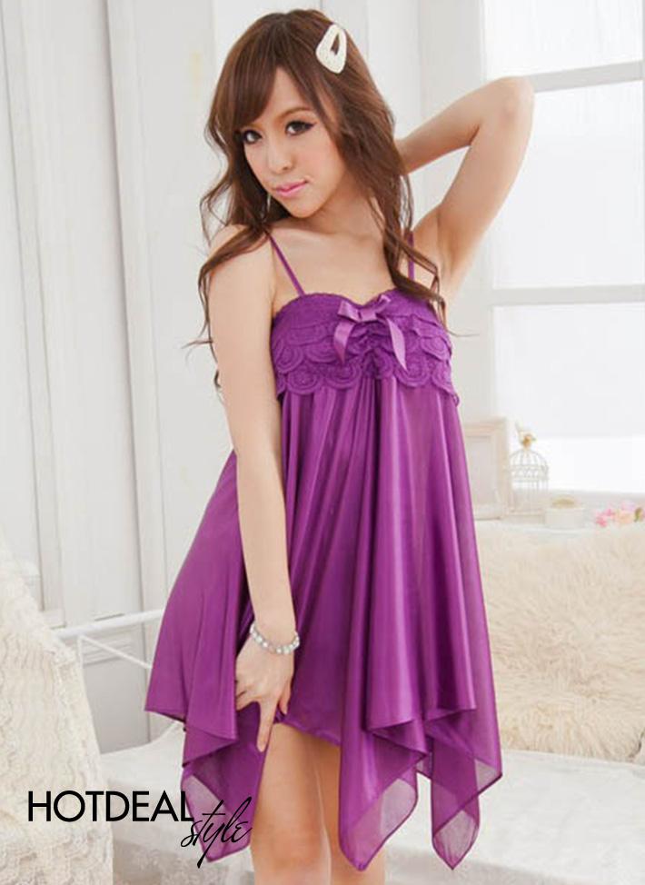 Váy Ngủ Ren Hoa Quyến Rũ Cho Bạn Gái