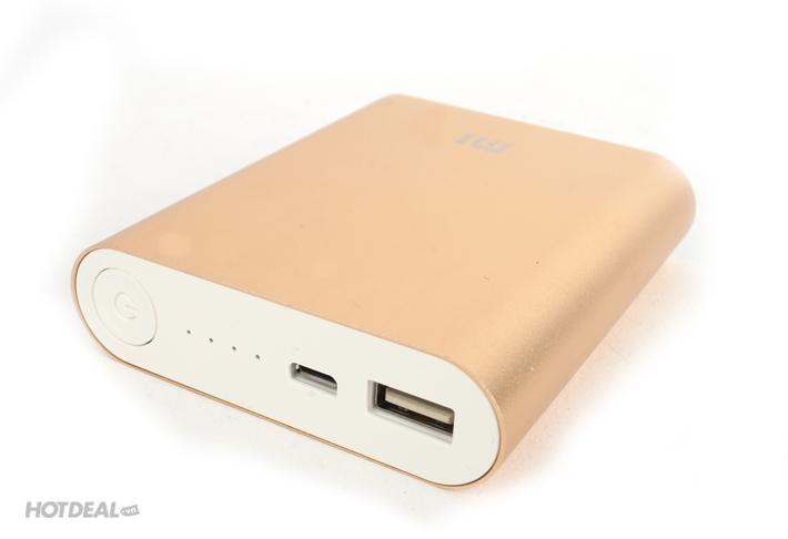 Pin Sạc Dự Phòng Xiaomi 10400 mAh Kèm Bộ Cáp Sạc 10 Đầu