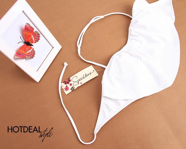 Bikini Xuất Khẩu Trắng – Đen Fashion