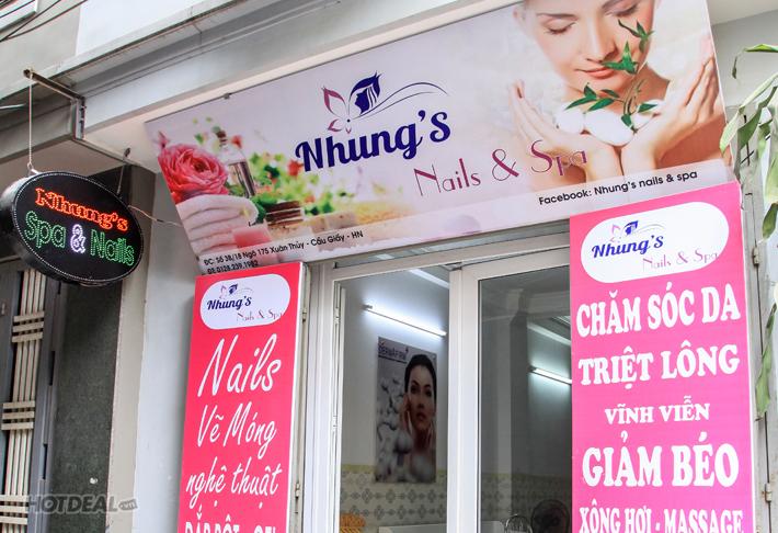 Dịch Vụ Làm Nail Bằng Gel Gellish Tại Nhung Spa & Nail