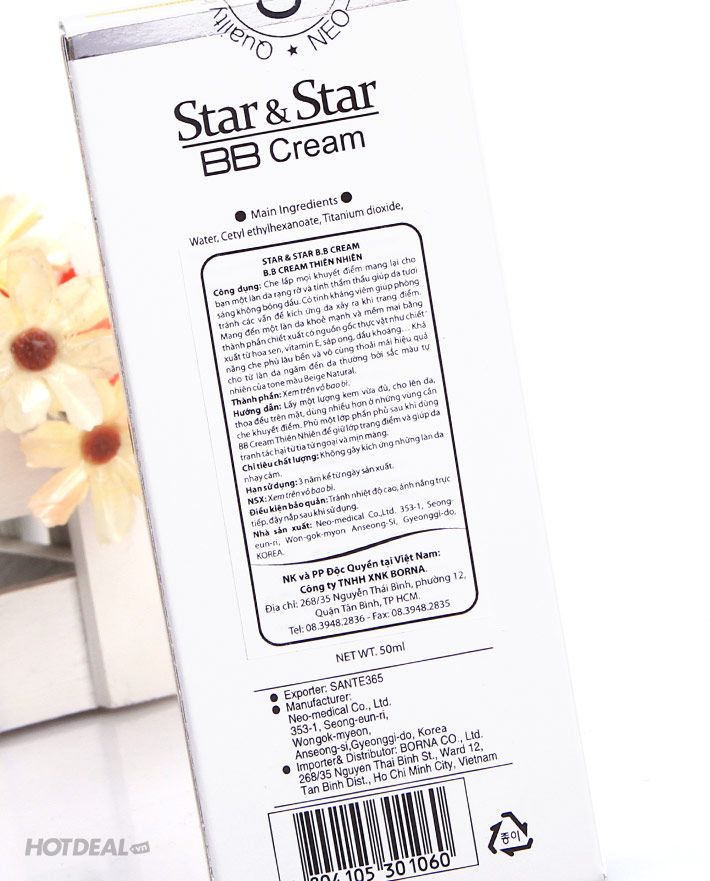 BB Cream Thiên Nhiên Star & Star Magic Chính Hãng Hàn Quốc