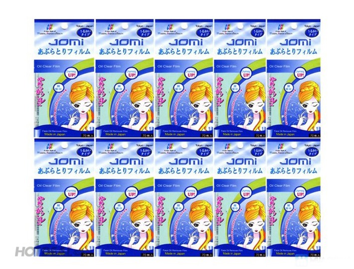 Combo 3 Gói Giấy Thấm Dầu Jomi Xanh Nhật Bản