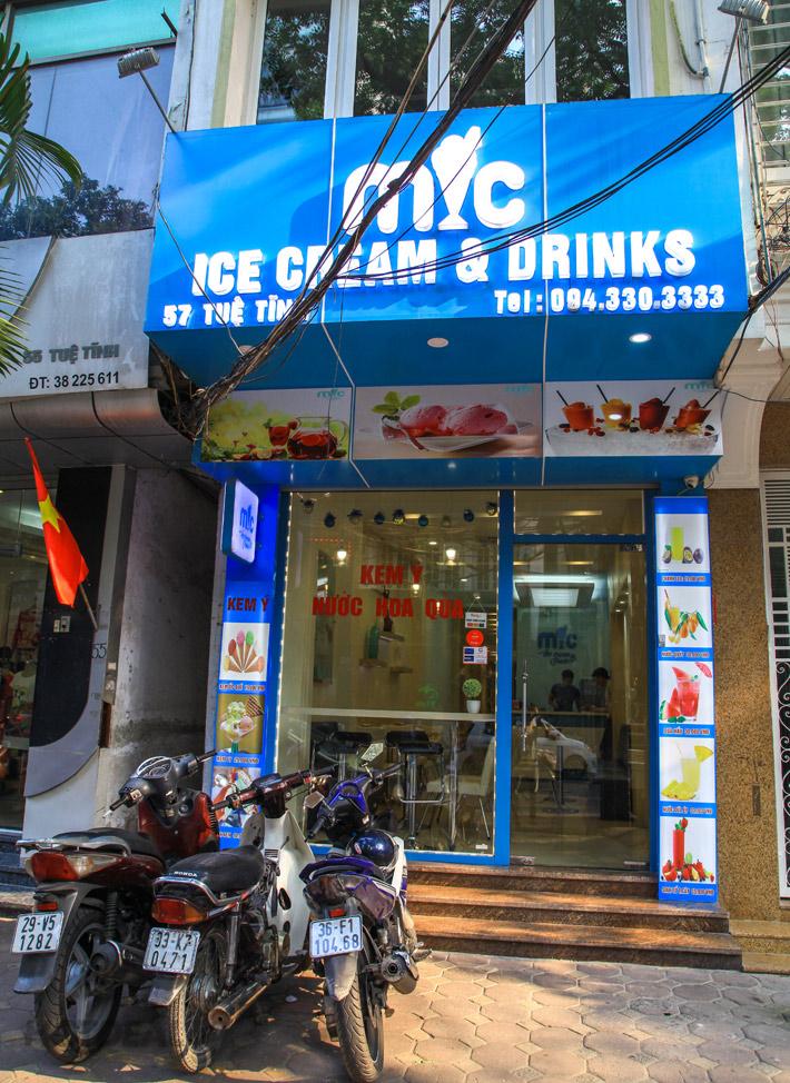 Combo 4 Viên Kem + 2 Nước Hoa Quả, Smoothies Cho 2N - Mic Ice Cream