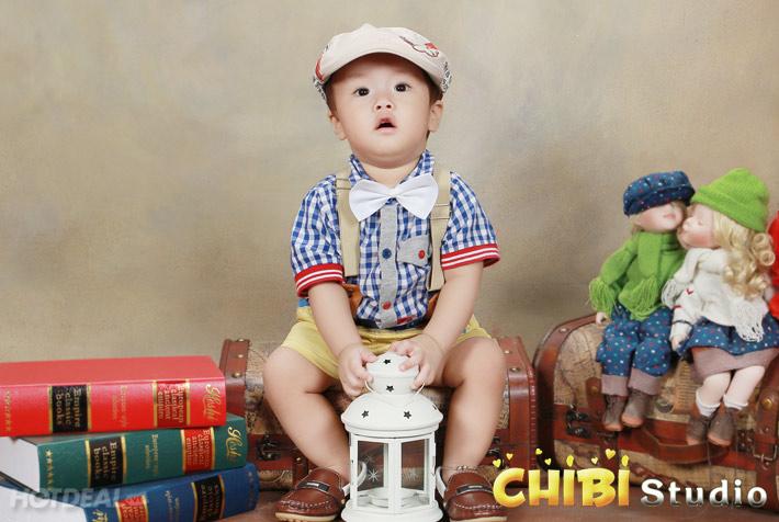 Gói Chụp Ảnh Cho Bé Yêu Tại Chibi Studio