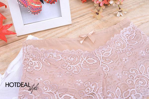 Combo 2 Quần Mặc Trong Váy Phối Ren