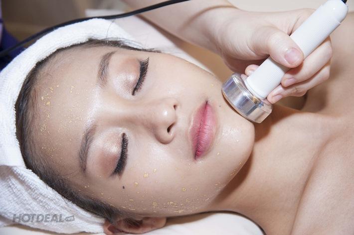 Trắng Sáng Da Mặt Điện Di Vitamin C Kết Hợp Massage Thụy Điển Thư Giãn