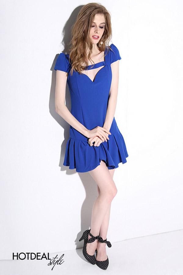 Đầm Xòe Xếp Ly Mini