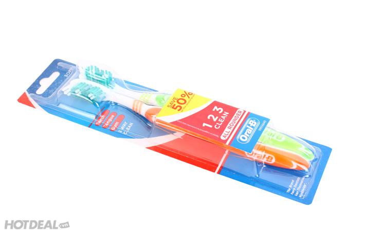 Combo 6 Bàn Chải Đánh Răng ORAL- B Thái Lan