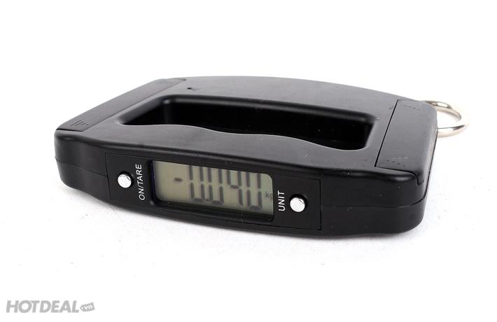 Cân Điện Tử Electronic Luggage Scale 50Kg - Nhỏ Gọn, Tiện Lợi - Giúp Các Bà Nội Trợ Tự Tin Hơn Khi Mua Hàng