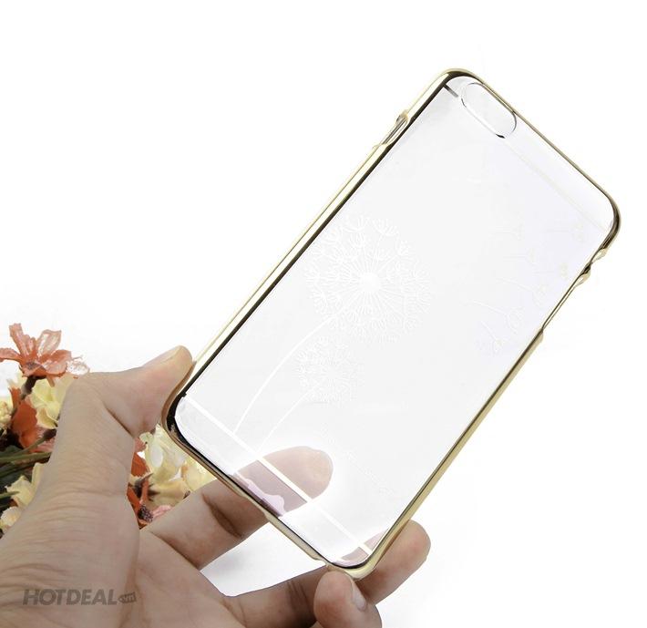 Ốp Trong Cao Cấp Có Viền Bồ Công Anh Cho iPhone 6 Plus (S669)