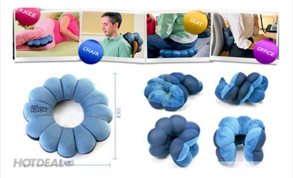 Gối Tựa Lưng Total Pillow 5 in 1 Tiện Dụng Mọi Lúc Mọi Nơi