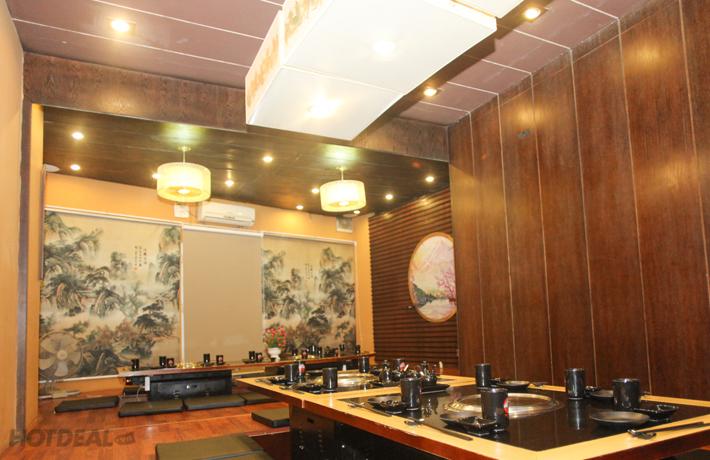 Buffet Lẩu Nướng Nhật Bản Đẳng Cấp Tại Nhà Hàng Shiki BBQ