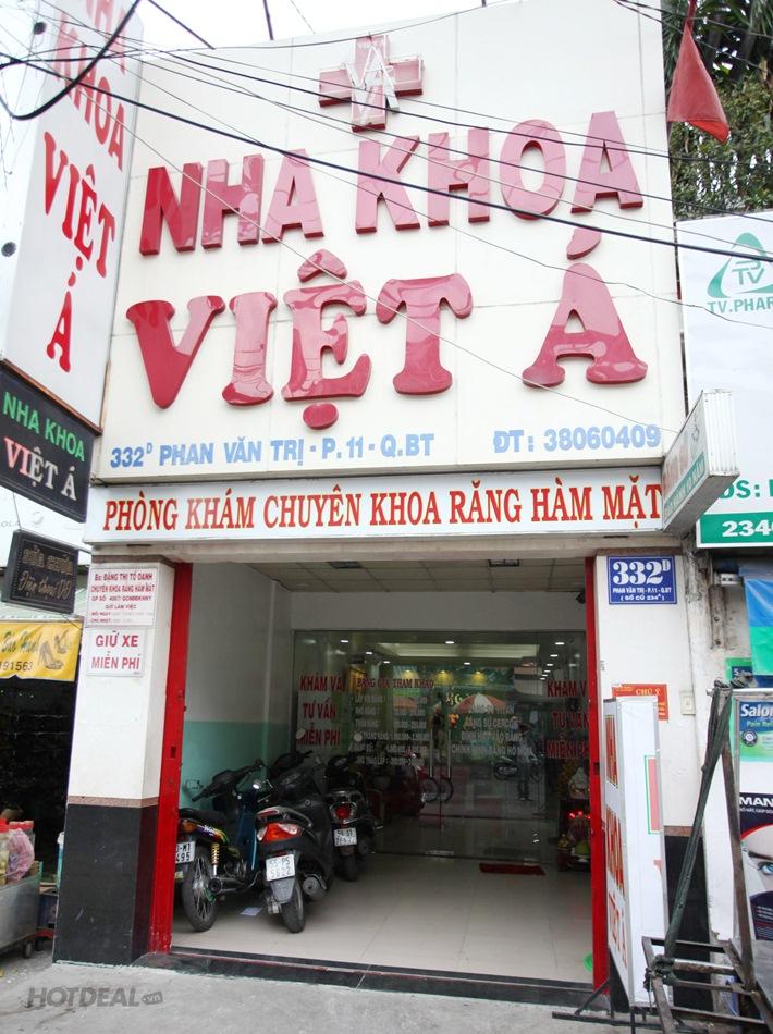 Cạo Vôi, Đánh Bóng/Trám Răng Thẩm Mỹ Tại NK Việt Á & NK Toàn Ân