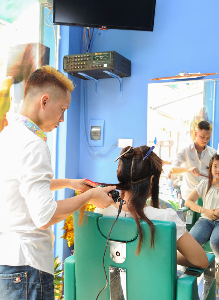 Combo Làm Tóc Siêu Hot Tại Salon Tóc Trang Sài Gòn