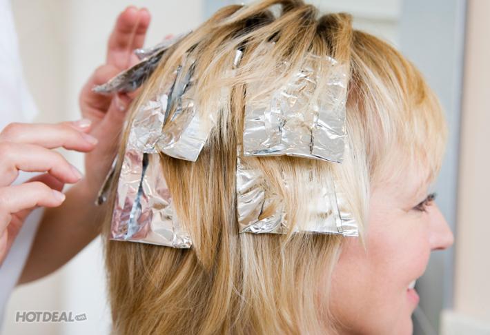 Uốn/ Nhuộm / Ép Tặng Hấp Collagel Tại C - TrựK Nguyễn Hair Salon