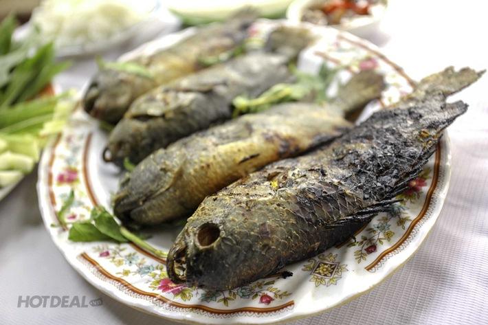 Câu Cá Không Giới Hạn + Được Mang Cá Về + 1 Trong 2 Set Menu