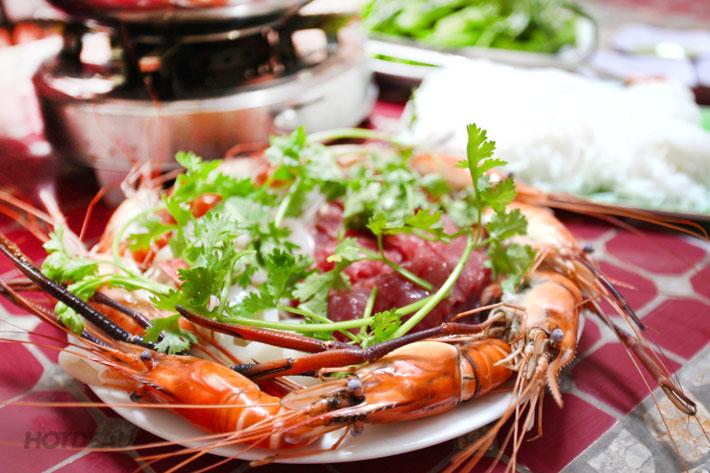 Lẩu Thập Cẩm Đặc Biệt (Tôm Càng, Bò, Mực) Cho 4 Người - 5 Ri Sài Gòn