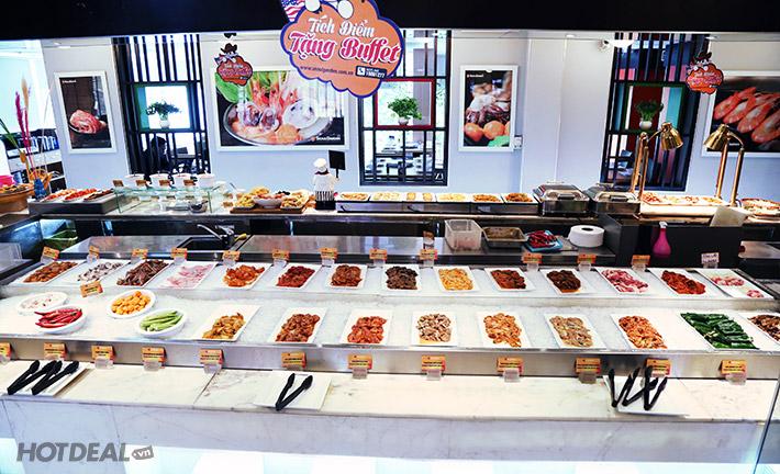 Buffet Trưa Seoul Garden Lẩu & Nướng (Bò Mỹ & Hải Sản) - CN Quận 3