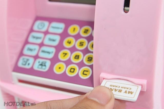 Cơn Sốt Máy Rút Tiền ATM – Ngân Hàng Tiết Kiệm Mini Cho Bé