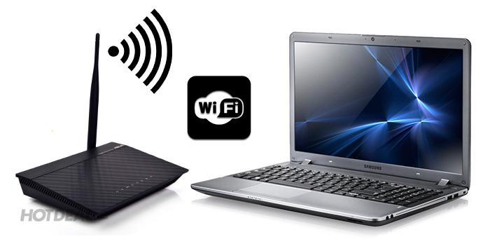 Router Wifi Asus RT-N10+, modem wifi phát sóng, Phạm vi bắt sóng Wifi có thể mở rộng - 1