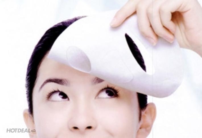 Hút Chì Thải Độc Tố Và Đắp Mặt Nạ Collagen Tại Pearl Spa