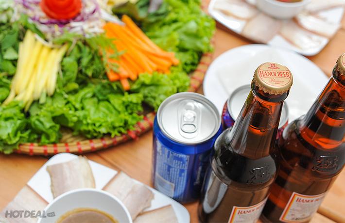 Bánh Tráng Cuốn Thịt Heo Dành Cho 4 Người Tại Mẹt Quán