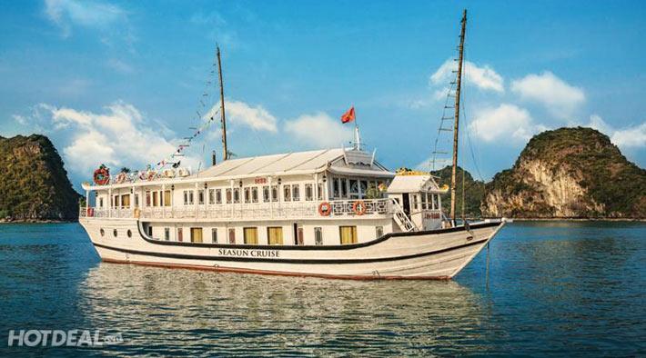 Tour Du Lịch Hạ Long – Làng Nổi Cửa Vạn, Ngủ Đêm Thuyền Seasun Cruise 3*