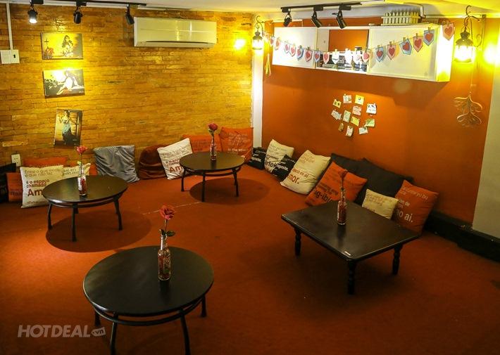 1 Pizza Tự Chọn, 2 Ly Coca - Geisha Café & Dining House.