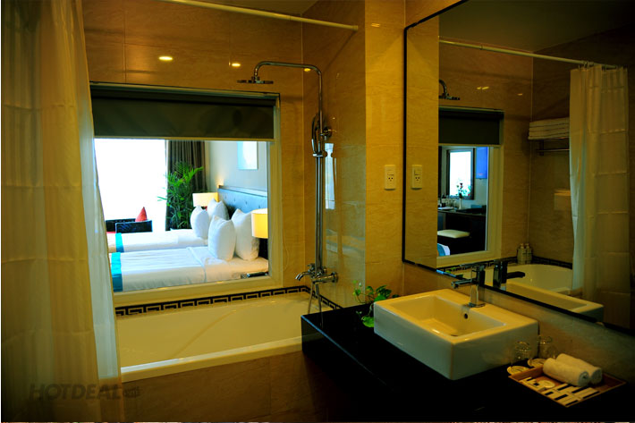 Sandunes Beach Resort & Spa Phan Thiết + Ăn Trưa/Tối 2N1Đ Cho 2 Người