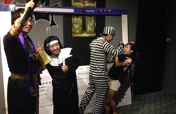 Kịch Tính, Mới Lạ, Vô Cùng Cuốn Hút Với Game Nhập Vai Thực Tế tại Break Out