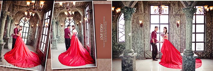 Chụp Ảnh Thời Trang Nghệ Thuật – Thử Làm Cô Dâu Tại Moda Studio