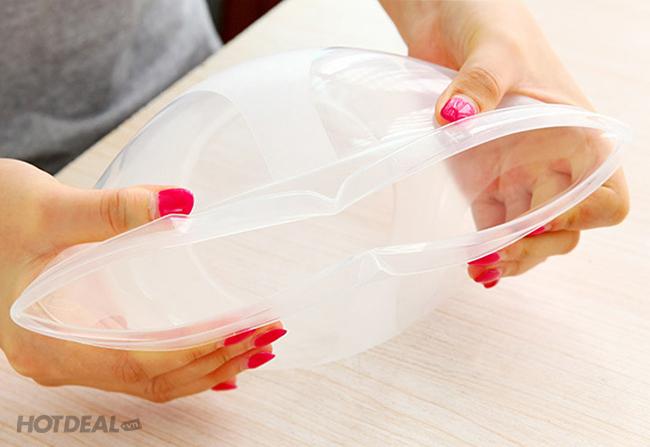 Combo 5 Hộp Nhựa Tròn Đựng Thực Phẩm