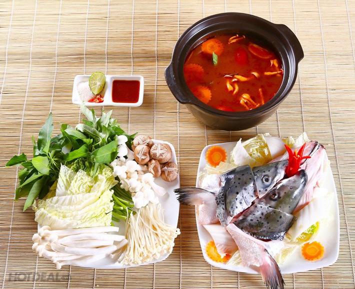 Buffet Nướng Lẩu Hàn Nhật Tại Nhà Hàng Sochu